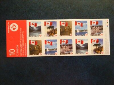 Canada#2193a BK341 MNH Booklet Pane 'Flags Over' Lot#P6