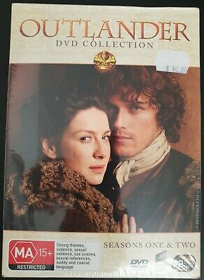Outlander Seasons 1 & 2. New and sealed DVD set. Region 2, 4 PAL. Free postage!