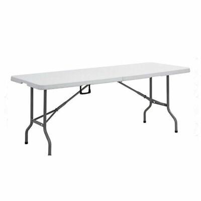 Heavy Duty 1.8M Folding Table 6Ft Foot Catering Camping Trestle Market Bbq