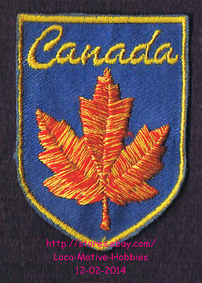 Lmh Patch Badge Canada Erable Feuille Logo Rouge Jaune Fall Couleur Canadien