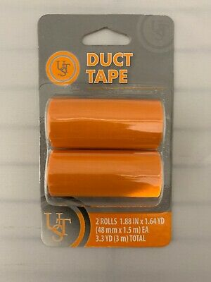 Emergency/Survival: UST Duct Tape (2) Rolls, Orange - Ultimate Survival