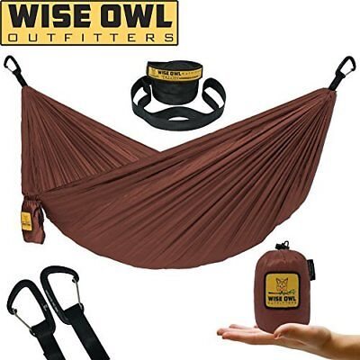 Wise Owl Outfitters Outdoor Camping Portable Hanging Travel Parachute Hammock