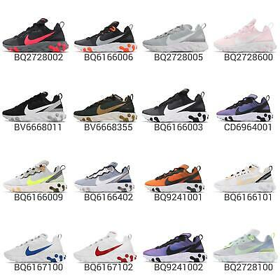 031f7b04427 Nike React Element 55 Lightweight Cushion Mens Womens Running Shoes Pick 1
