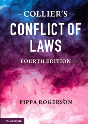 Collier's Conflict of Laws by Pippa Rogerson 9780521735056 (Paperback, 2013)