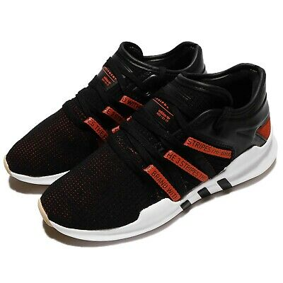 61014a24587b adidas Originals EQT Racing ADV W Black Bold Orange Women Running Shoes  CQ2154