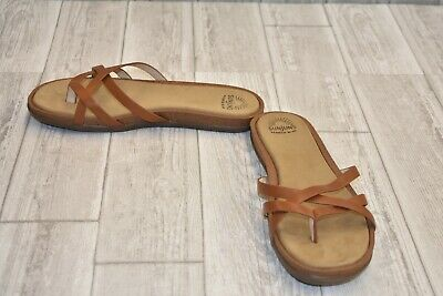 f86a111fa283 WOMEN S SUNJUNS SANDALS By GH BASS Pink Leather Sandals Size 9.5M ...