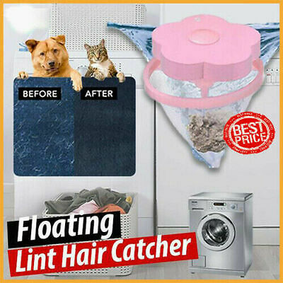 Floating Pet Fur Catcher Laundry Lint & Pet Hair Remover -75% OFF