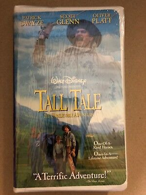 Tall Tale The Unbelievable Adventure VHS Swayze NEW SEALED