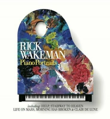 RICK WAKEMAN Piano Portraits CD BRAND NEW