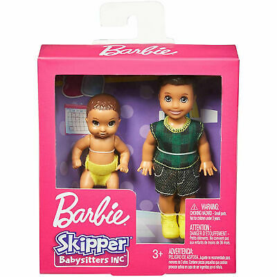 Barbie Skipper Babysitters Sibling Toddler And Baby Doll NEW