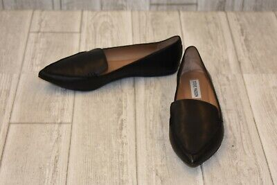 8d9777978c5 STEVE MADDEN FEATHER Loafer Flat - Women s Size 8 M - Black -  26.93 ...