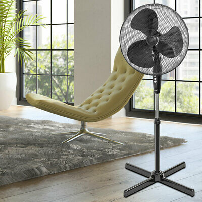 Stand Ventilateur Bureau Air Erfrischer 45 Watt Salon Pièce Glacière Big Light