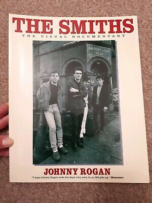 The Smiths The Visual Documentary Paperback Book Johnny Rogan Morrissey