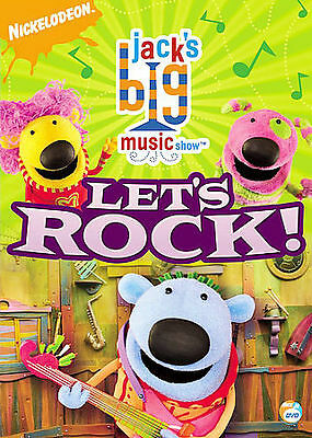 Jack's Big Music Show: Let's Rock by Dirty Sock Fun Time Band, Laurie Berkner,