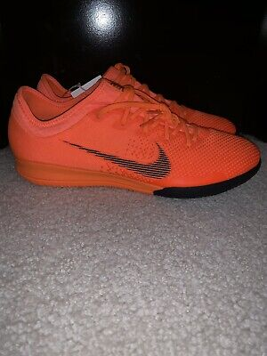 66d43f33c80 Nike Mercurial Vapor X 12 Pro IC Orange Men s Soccer Indoor AH7387-810 Size  10.5