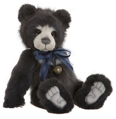 Hakatan - collectable jointed plush teddy by Charlie Bears - CB181809A