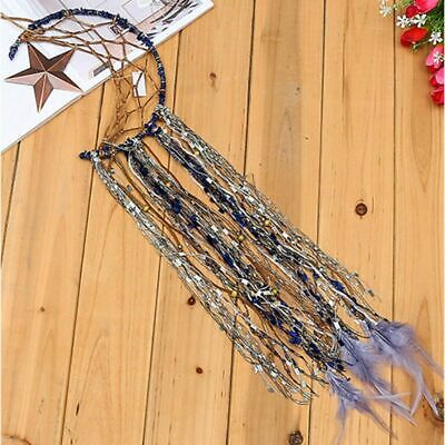 Handmade Feather Dream Catcher Moon Star Dreamcatchers Wall Hanging Decor