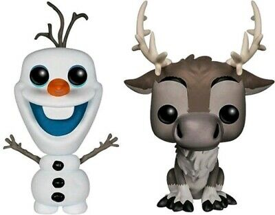 Pop! Vinyl--Olafs Frozen Adventure - Olaf & Sven US Exclusive Pop! Vinyl 2-pa...