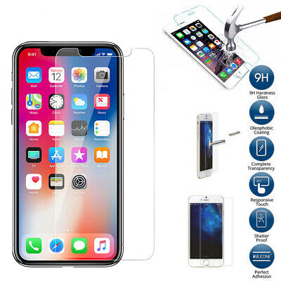 2.5D 9H PREMIUM TEMPERED GLASS SCREEN PROTECTOR FILM FOR IPHONE X XS MAX XR chic