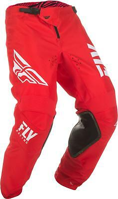 Fly Mx Kinetic Shield Pants Red/white Sz 22 372-43222