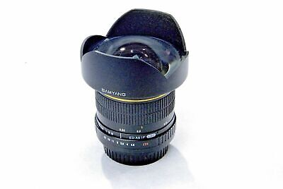 Objectif Samyang 14 mm f / 2,8 mm AS AS UMC pour Canon EF