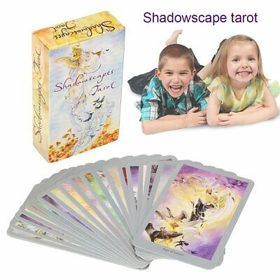 78Pcs Shadowscape Tarot Cards Set Decks Game