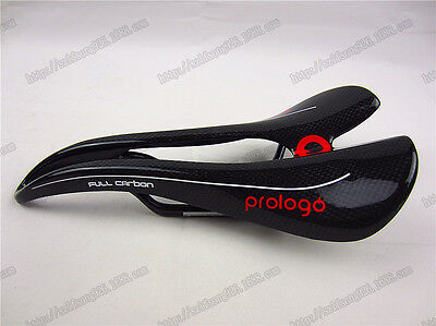 mountain road bike saddle seat full carbon fiber saddle for  PROLOGO black