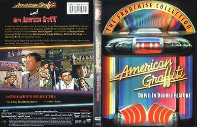American Graffiti Drive-In Double Feature (DVD 2004 2-Disc Set) RARE VERSION NEW