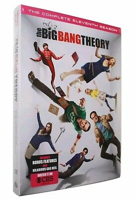 The Big Bang Theory Season 11 (2 DVDs)NEW RELEASE-BONUS FEATURES & GAG REEL