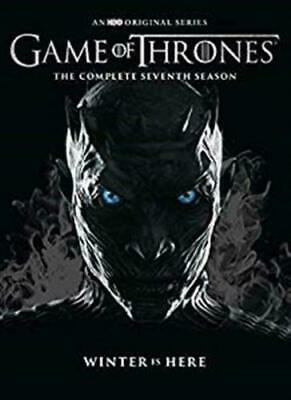 Game of Thrones: The Complete Seventh Season 7 (DVD,2017) new, sealed,Fast ship