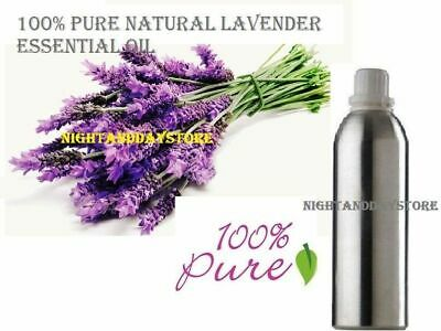 Lavender Essential Oil Pure Natural Organic Therapeutic Aromatherapy(5ml -100ml)