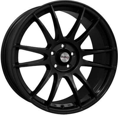 "Alloy Wheels 15"" Calibre Suzuka Black Gloss For VW Scirocco [Mk3] 85-92"