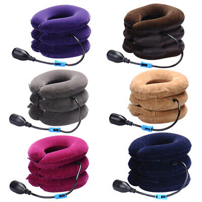 Neck Massager Neck Brace Support Cervical Collar Air Traction Therapy Device