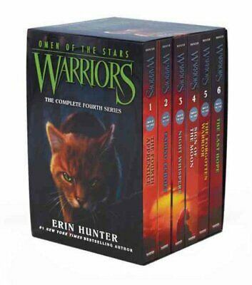 Warriors: Omen of the Stars Box Set: Volumes 1 to 6 by Erin Hunter 9780062382641