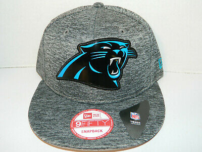 fd1698bc CAROLINA PANTHERS NFL New Era 9fifty Snapback Hat grey 1 Size Cap Shadow  tech