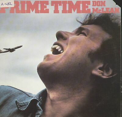 Don McLean Prime Time Vinyl LP Record Album