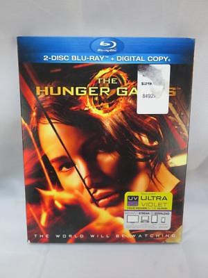 The Hunger Games (Blu-ray Disc, 2012, 2-Disc Set) Sealed w/ Slipcover