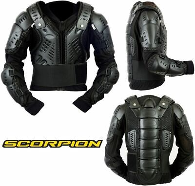 Adult Biker Body Armour Motorcycle Motorbike Motocross Protector Guard Jacket