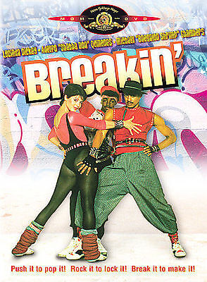 Breakin' (DVD, 2003) RARE OOP 1984 MUSICAL BRAND NEW OFFICIAL MGM