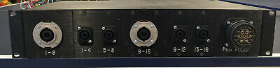 NL8 - NL4- Socoplex Speaker output cable panel (ONE)