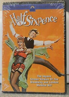 Half a Sixpence (DVD, 2004) RARE 1967 MUSICAL TOMMY STEELE BRAND NEW