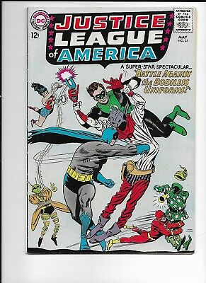 Justice League Of America #35 Vf- 7.5