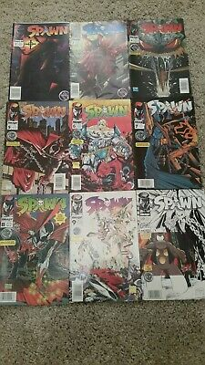 Spawn Comics Image Rare South Africa First issues 2 To 10