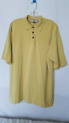 Men's Clothing Tommy Bahama Mens Polo Shirt Size Large Color Yellow