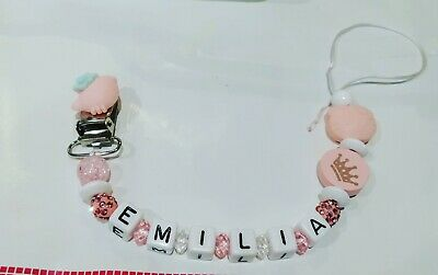 Attache Tetine Personnalisee hello kitty A Personnaliser