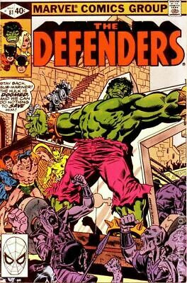 Defenders (1st Series) #81 1980 VG Stock Image Low Grade