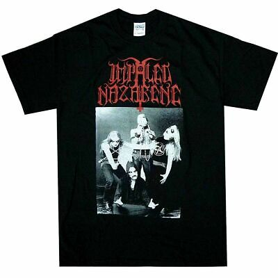 Impaled Nazarene Christ Crucified T-Shirts M-3XL Black Metal Offcl T-Shirt US