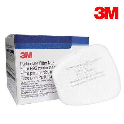 10PCS 3M 5N11 N95 Cotton Filters For 6200/7502 Gas Dust Mask Replace Accessories