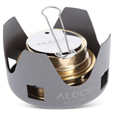 Stainless Steel Mini Burner Alcohol Stove Outdoor Picnic Camping Hiking Furnace
