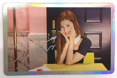 Twice Sana Official Photocard 4th Mini Album Signal Special Photocard Ver